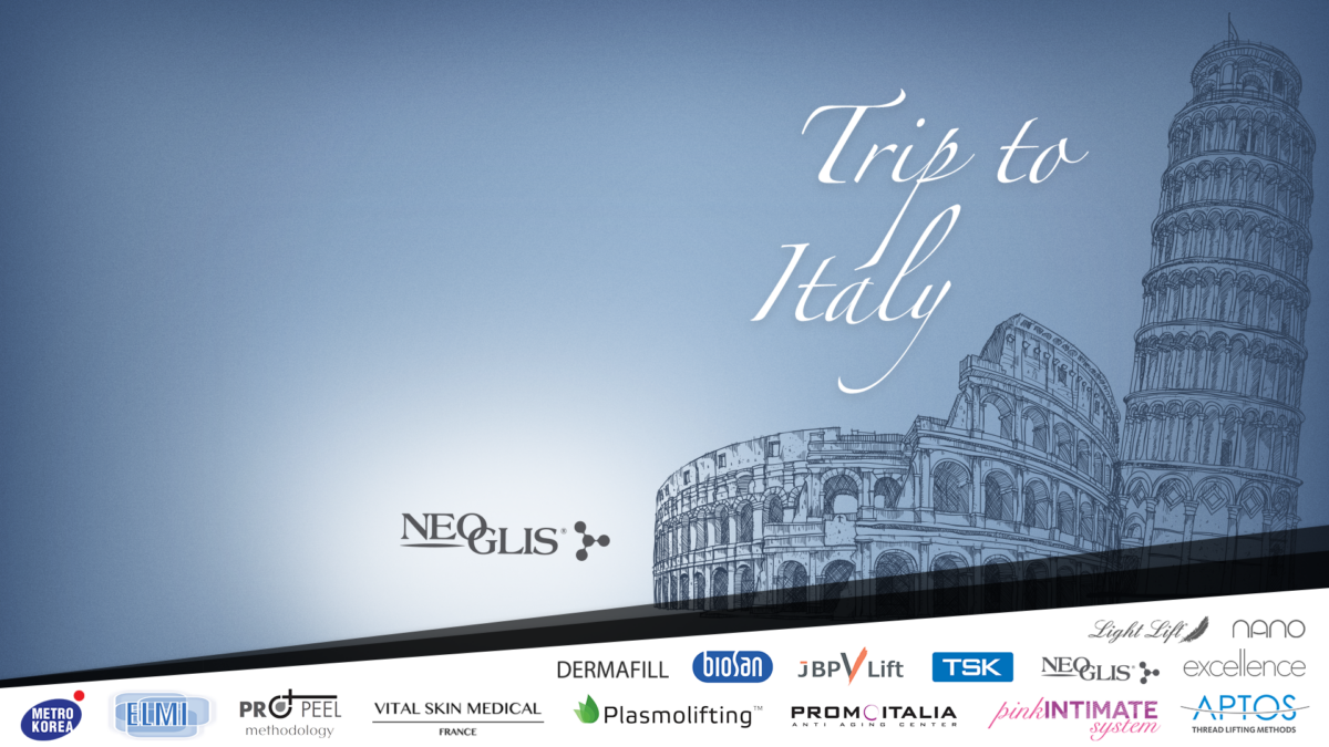 Trip to Italy web banner